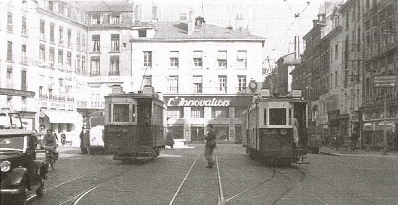Place Grenette : des années 30 à la fin des années 1940