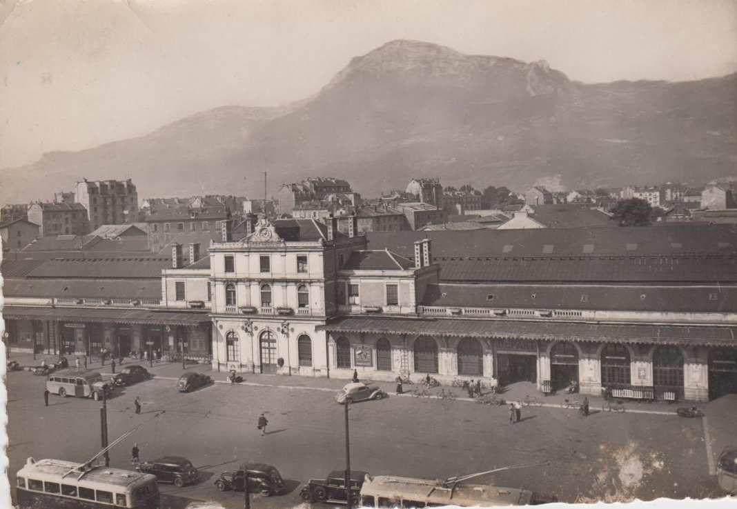 ancienne gare SNCF (détruite en 1967)
