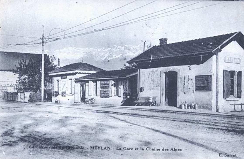 Gare de Meylan