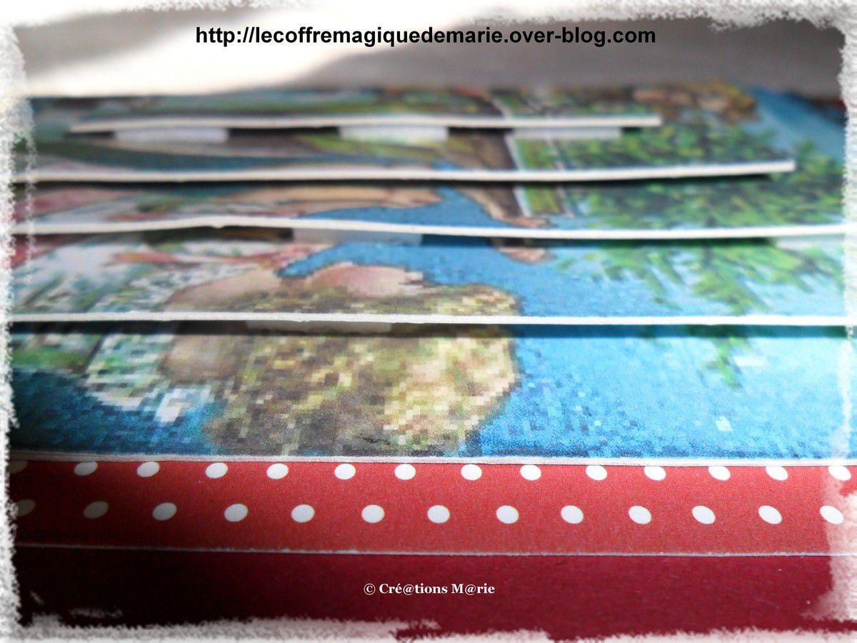 Scrap (Noël) cartes
