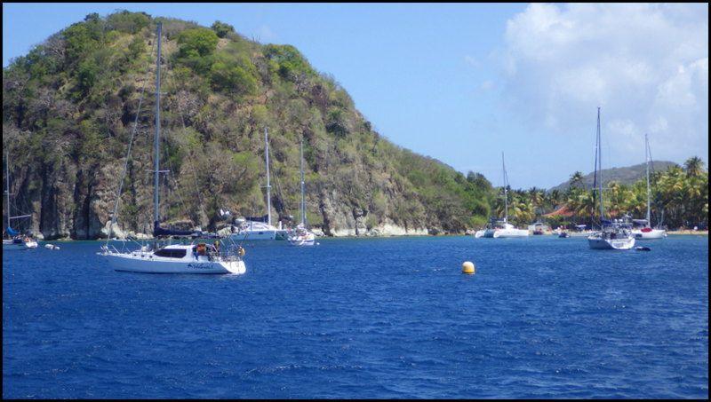Antigua et Barbuda au départ de la Guadeloupe !