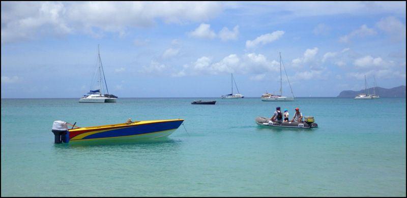 Les Grenadines c'est tellement beau !! Avril 2017