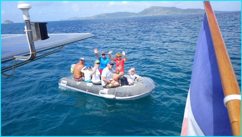 Les îles Grenadines pour cadeau d'anniversaire !!