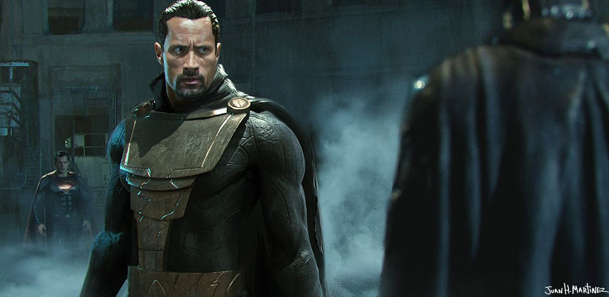 Shazam - Le fan art Black Adam