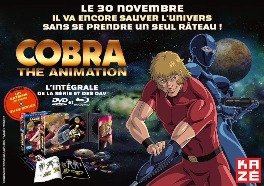 Cobra revient en DVD/Blu-ray
