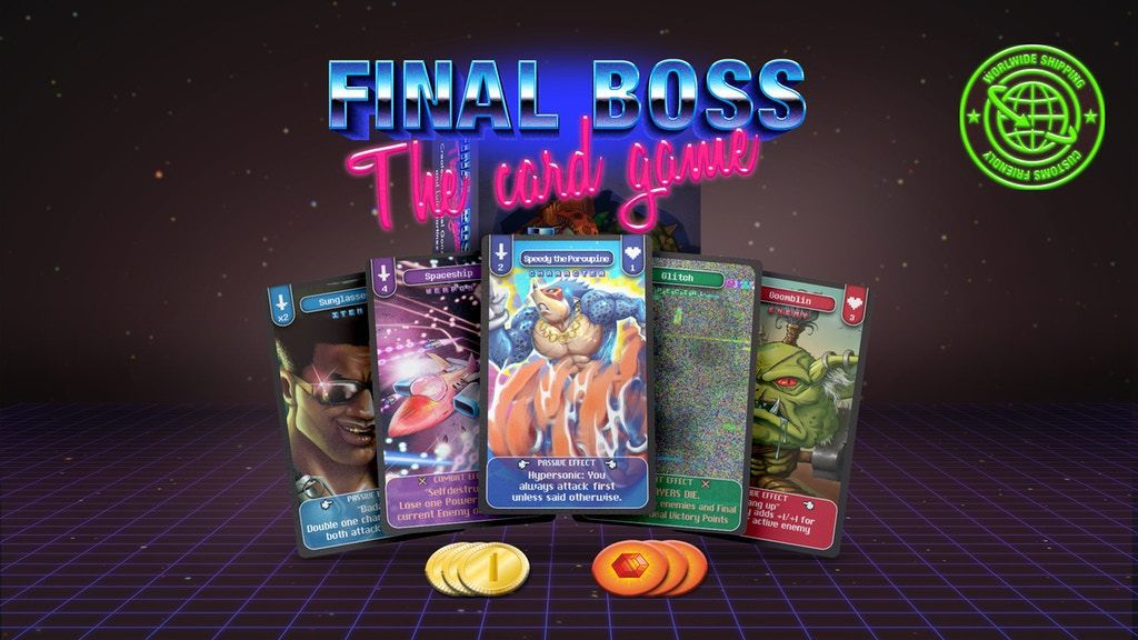 Final Boss - The Card Game