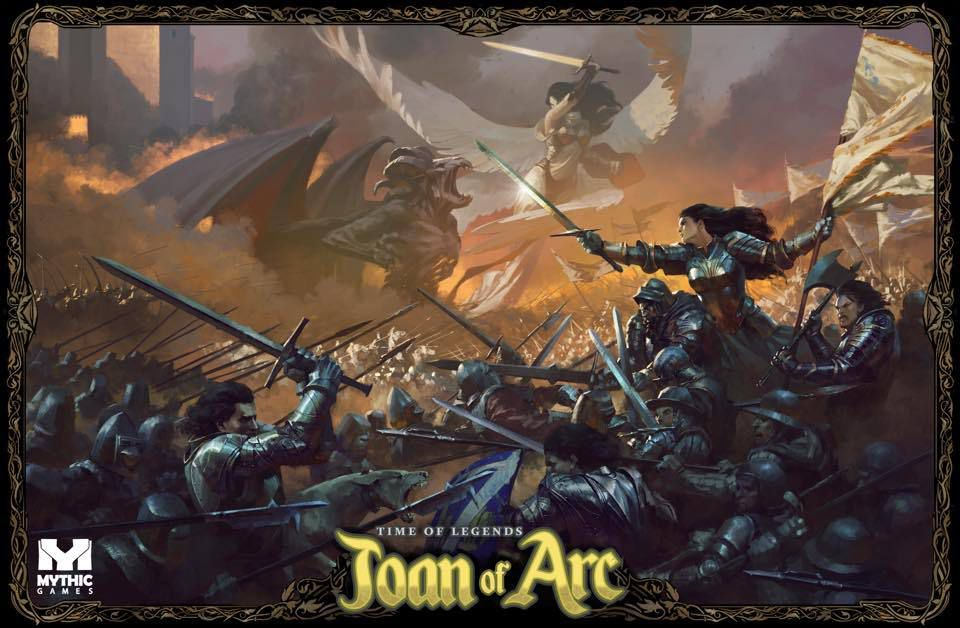 Time of Legends - Joan of Arc - La page Board Game Geek