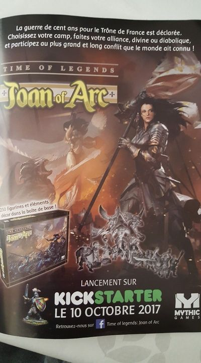 Joan of Arc - La date de lancement