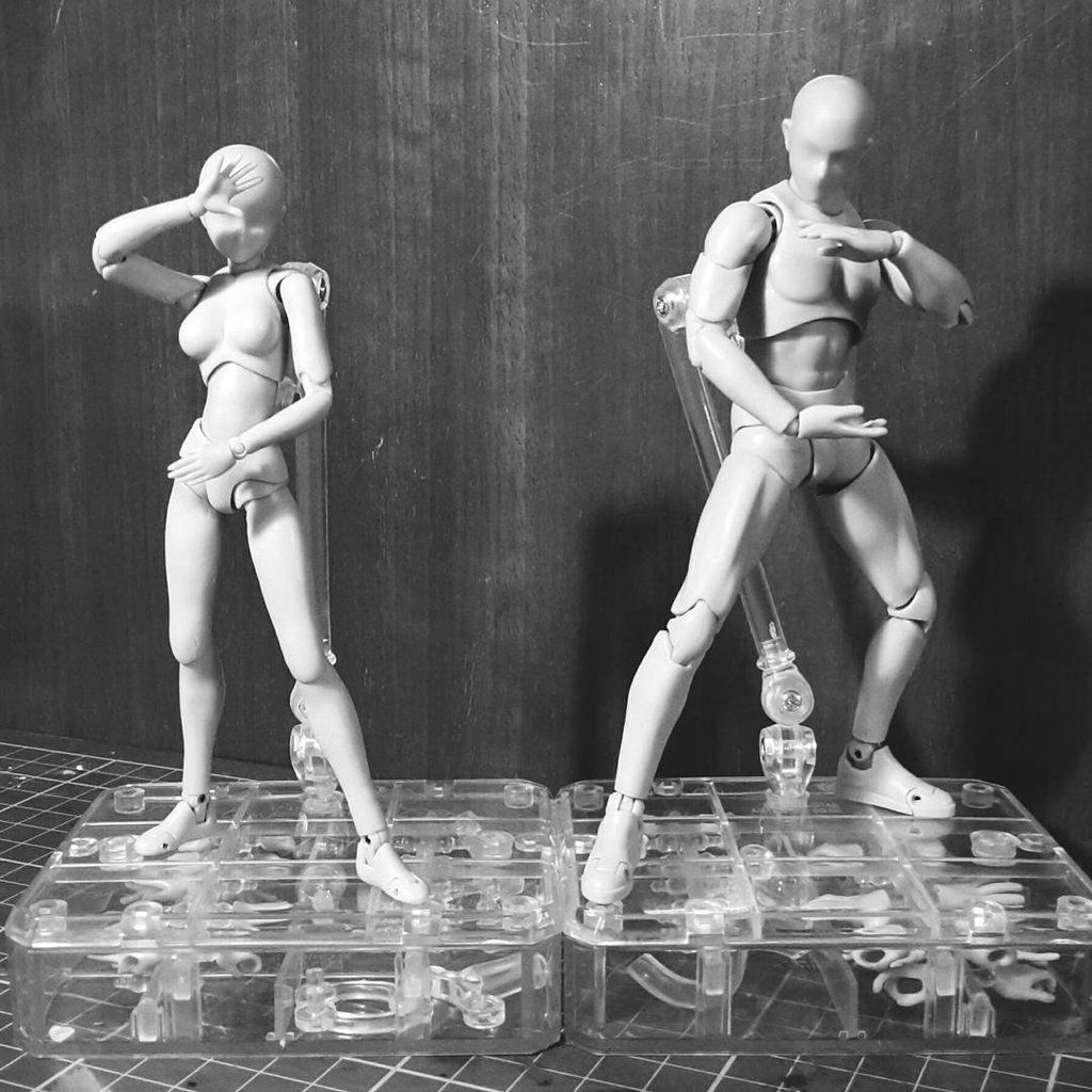 Les figurines Body-kun