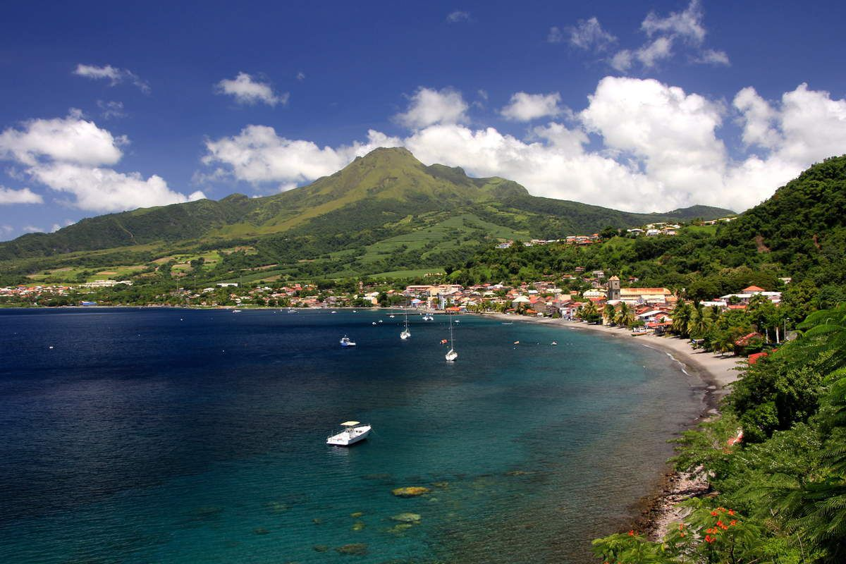 Baie de Saint Pierre en Martinique