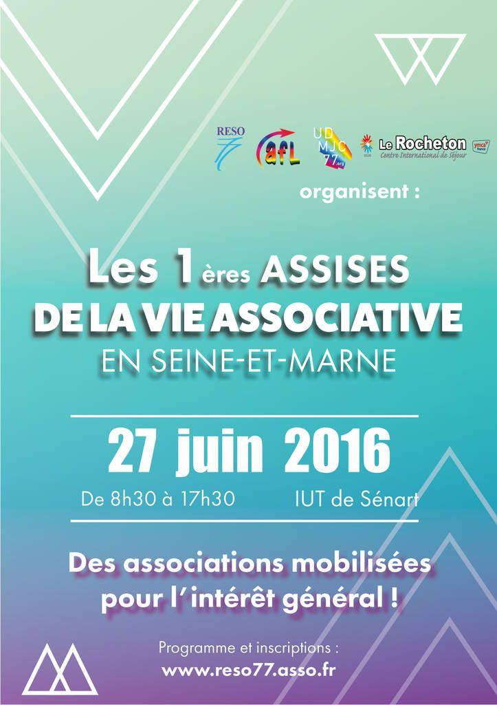 Les assises de la vie associative de Seine-et-Marne.