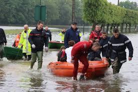 Les inondations : texte d'un apprenant en cours de français