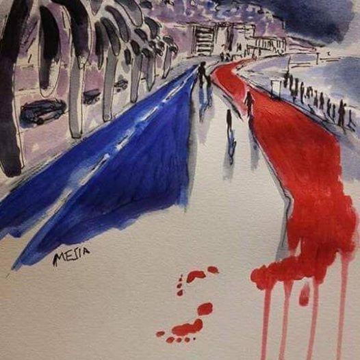 Hommage pénivauxois aux victimes de Nice