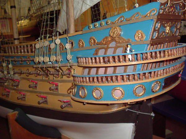le vaisseau san-félipe réalisé étape par étape