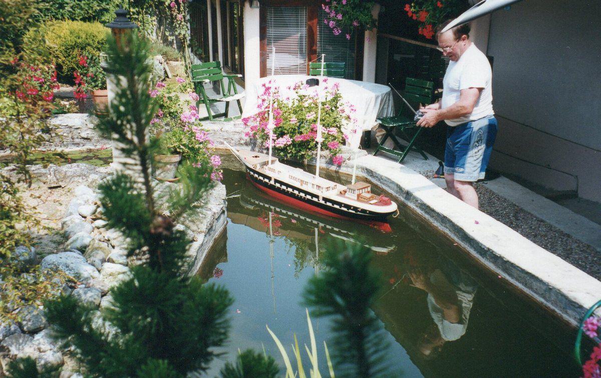 les éssaies de flotaison sur mon bassin