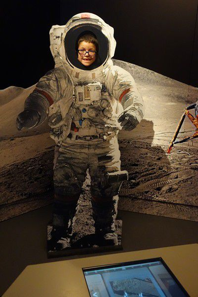 Je suis dans la lune !