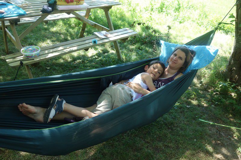 La belle vie au camping du pré cathare à Lavelanet .
