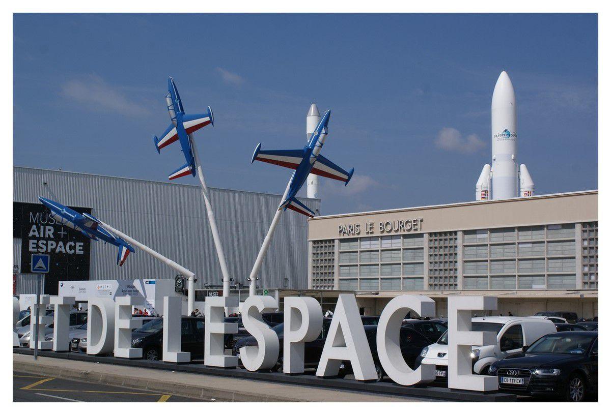 Mes photos d'une journée au Salon international de l'aéronautique et de l'espace 2015