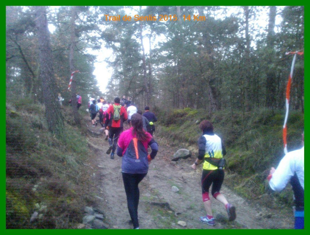 Trail de Senlis 2015. 14 km découverte.
