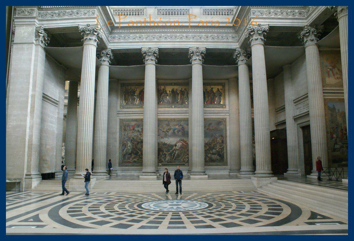 Le Panthéon. Paris 2016