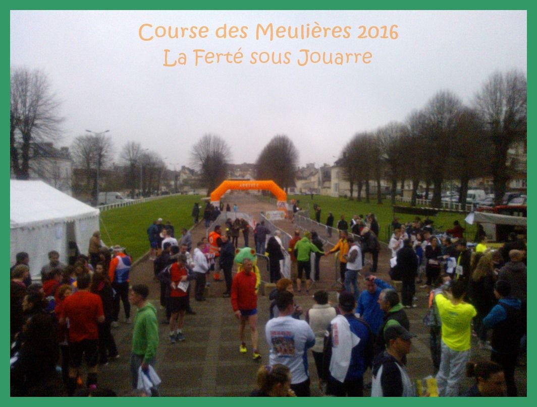 Course des Meulières 2016. La Ferté sous Jouarre.