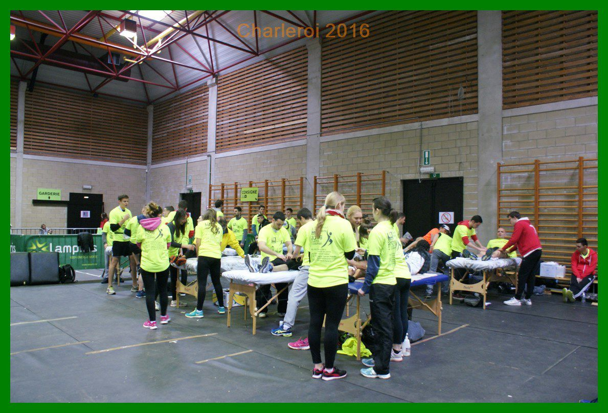 Rencontre Franco-Belge Barefoot à Charleroi. 15 km de Charleroi 2016.