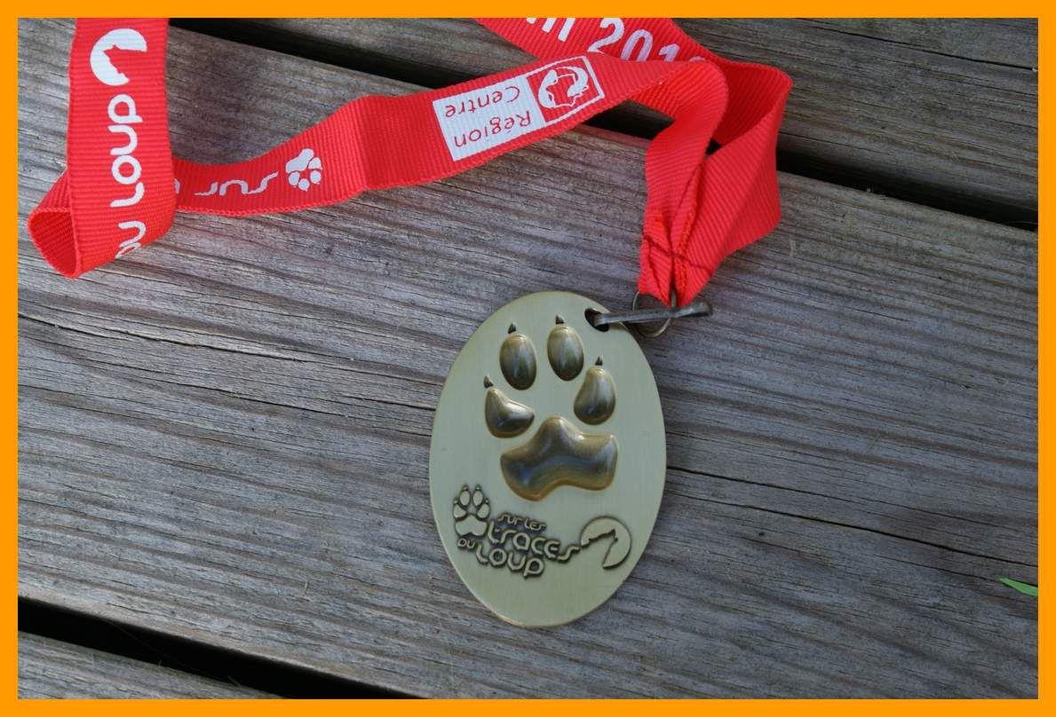 Médaille Sur les Traces du Loup