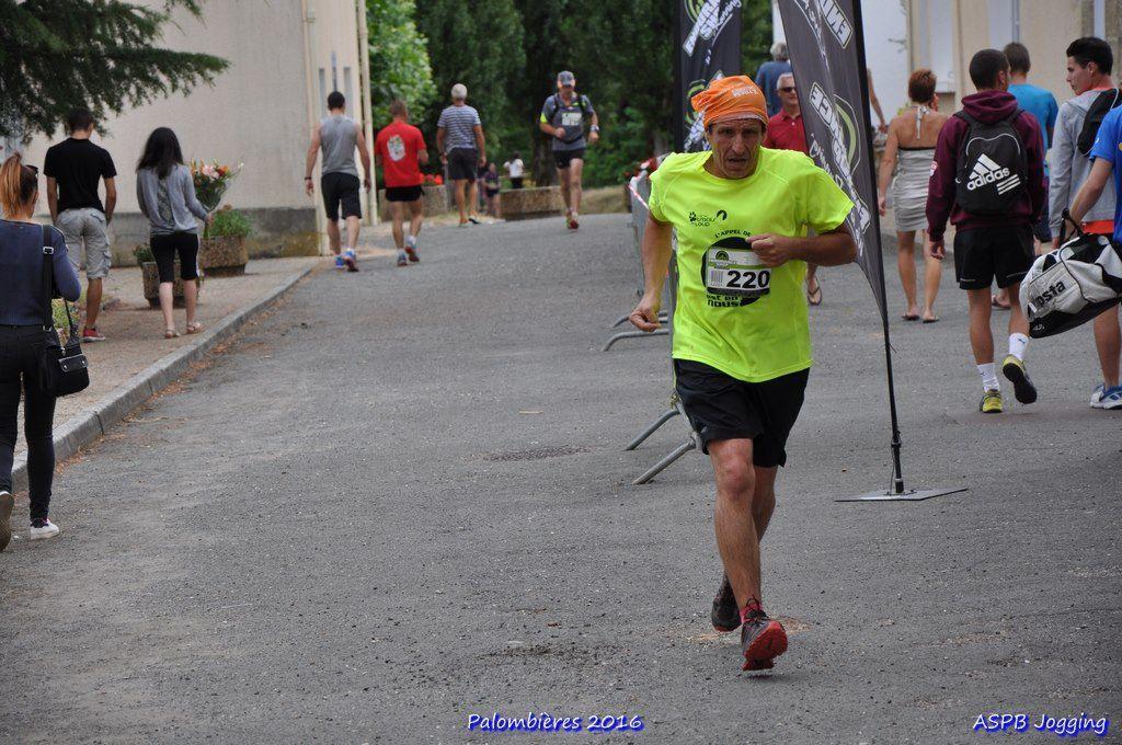 Trail des Palombières 2016 à Le Fleix.
