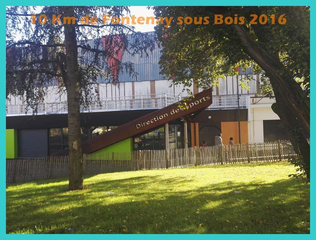 10 Km de Fontenay sous Bois 2016