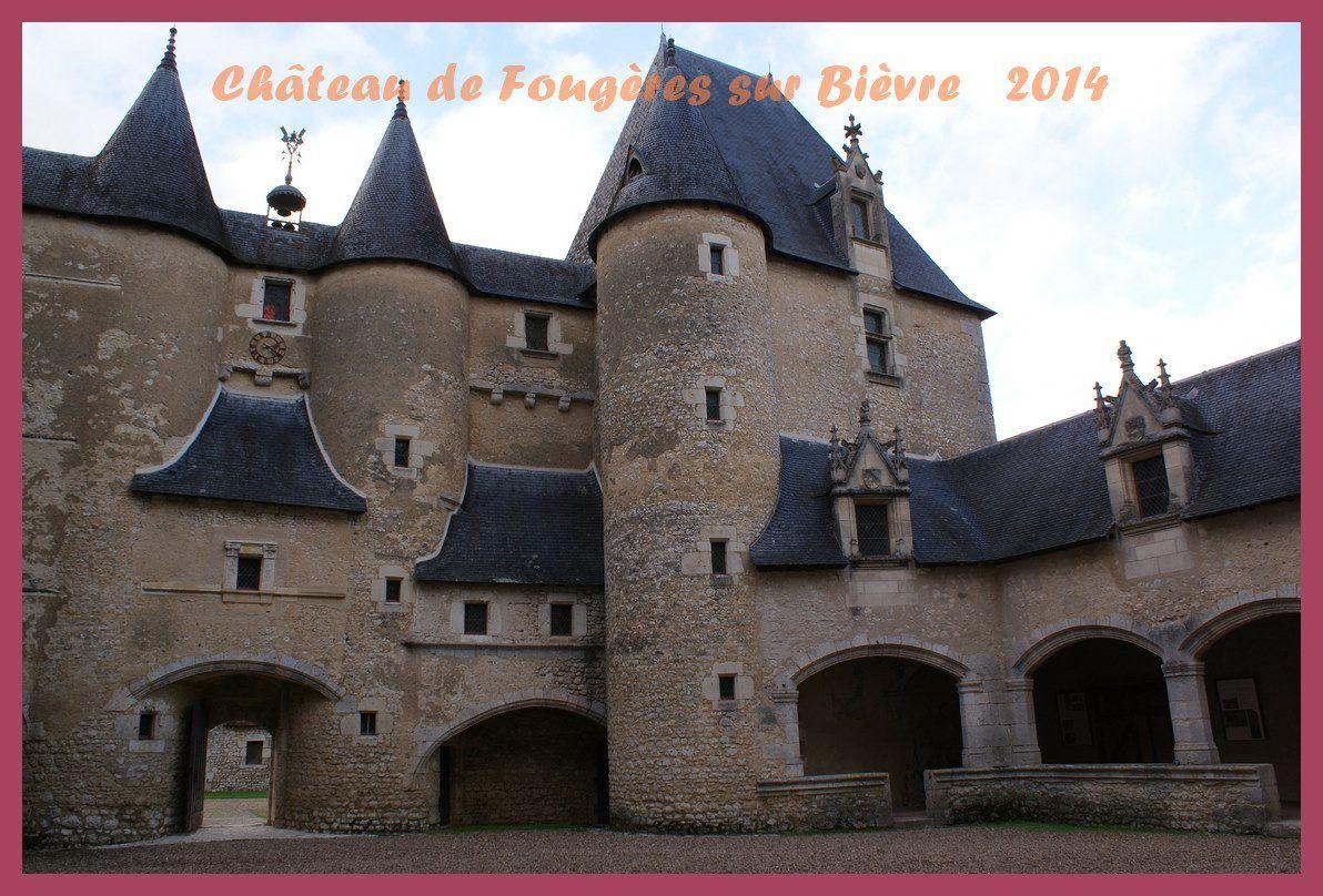 Château de Fougères sur Bièvre  2014.