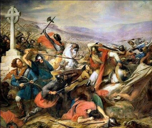 Charles Martel VS Arabes. Poitiers. 732