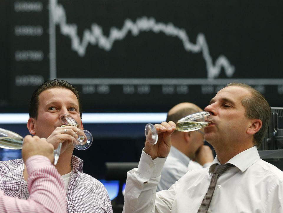 L'année 2016 a été un bon cru pour les actionnaires. Photo Rajph Orlowski. Reuters -Repris sur le site de Libération.