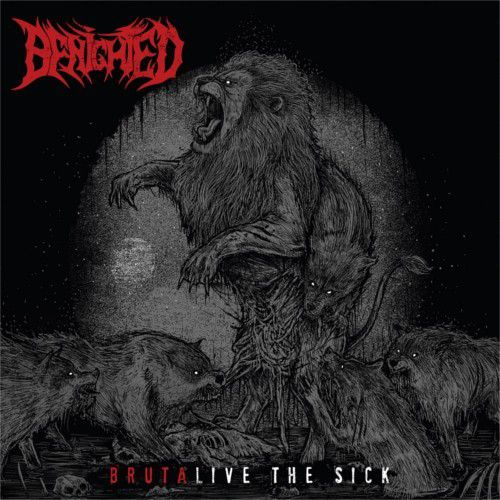 Sortie du nouvel album album / dvd live de Benighted : Brutalive The Sick