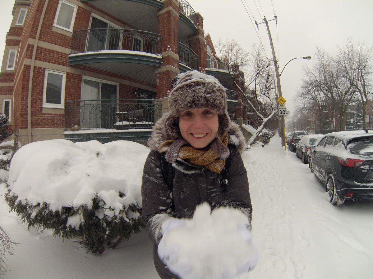 Notre 1er hiver à Montréal