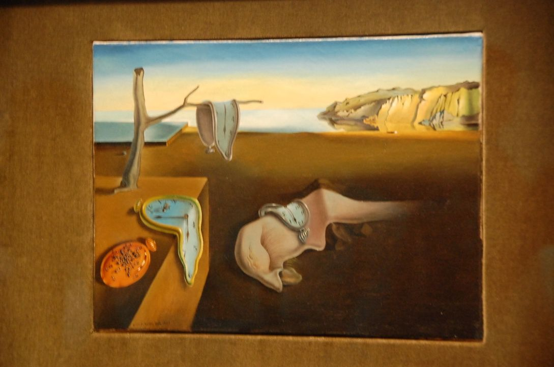 The persistenceof Memory, Salvador Dali
