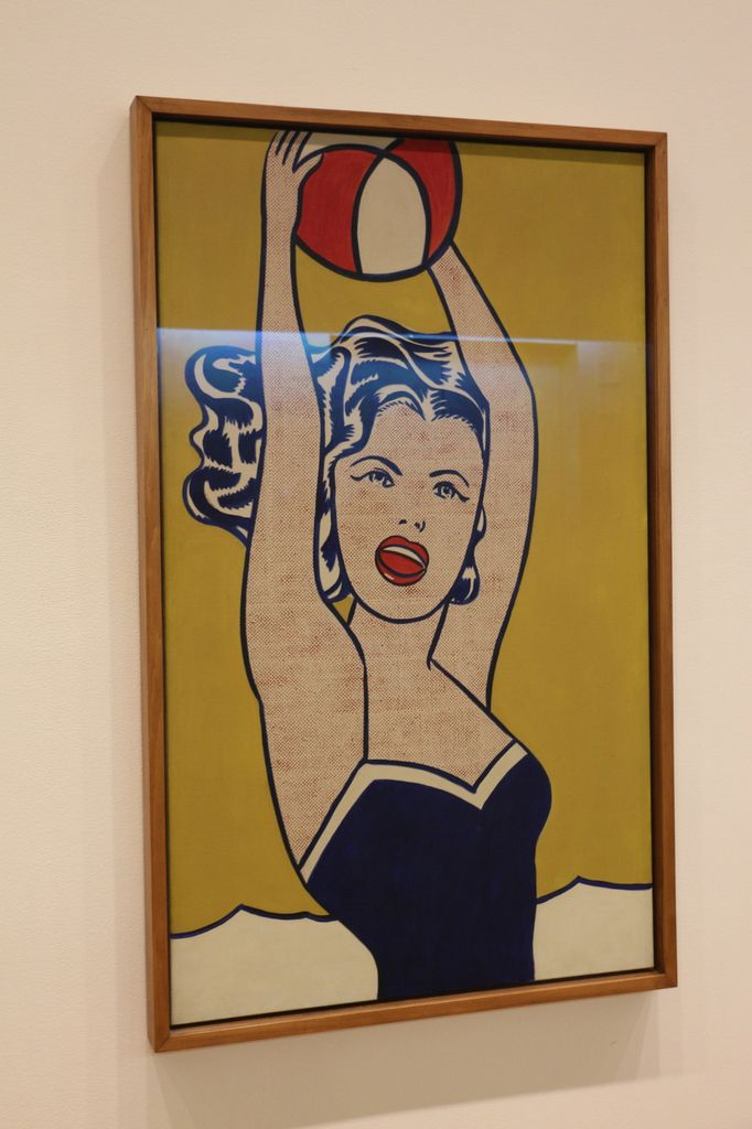 Girl with Ball, Roy Lichtenstein