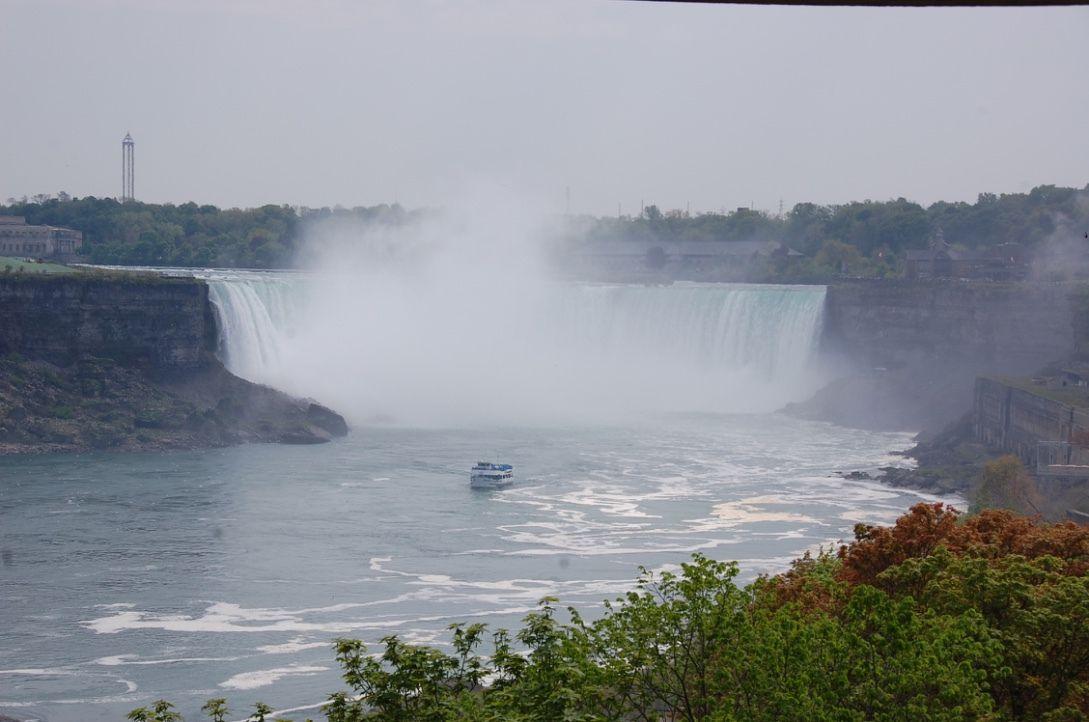 Les chutes du Niagara, mai 2016
