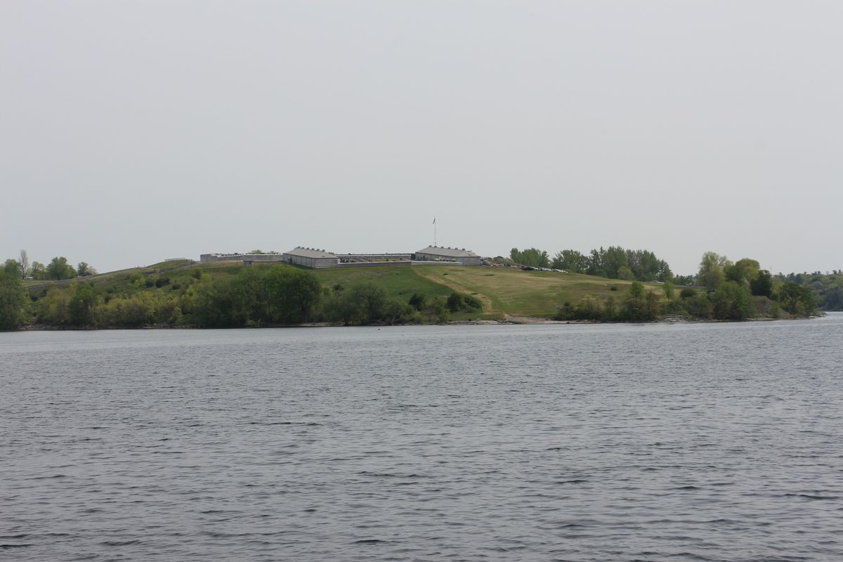Croisière à Kingston, thousand Islands, mai 2016