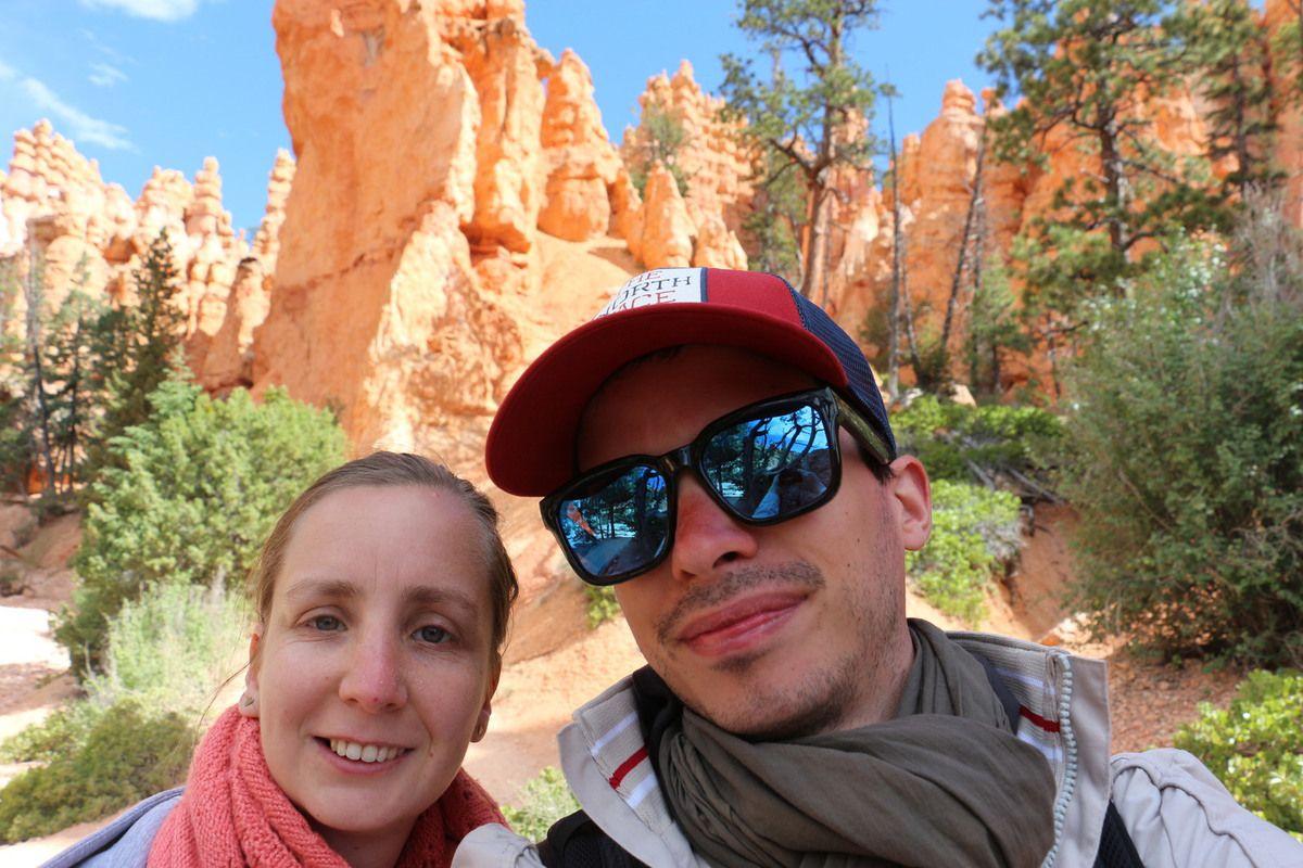 Road trip Ouest Américain, Bryce canyon, mardi 13 juin