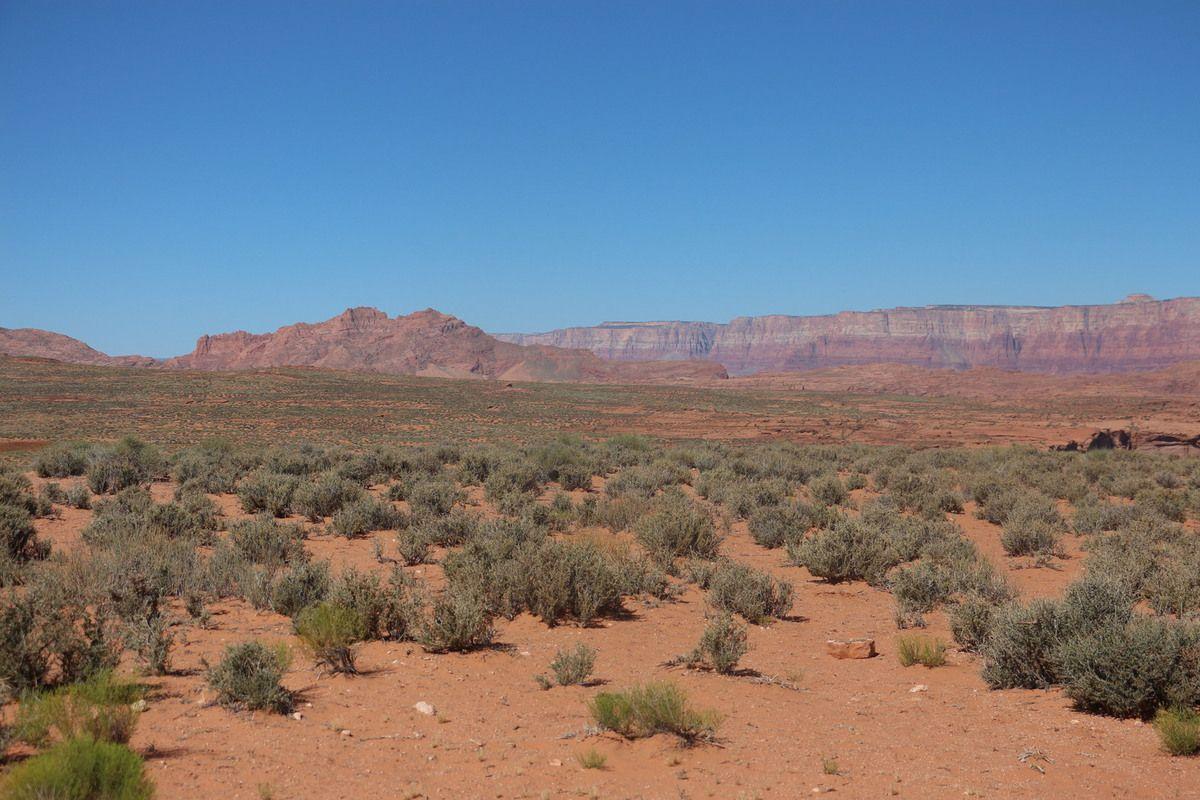 Road trip ouest américain, Entre Page et Monument Valley,15 juin 2017