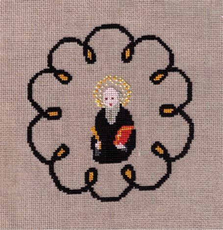 Saint Benoît sera à l'honneur. Grille de Marie-Jeanne.