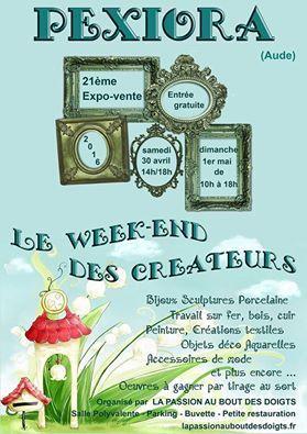 Pexiora : week-end des créateurs