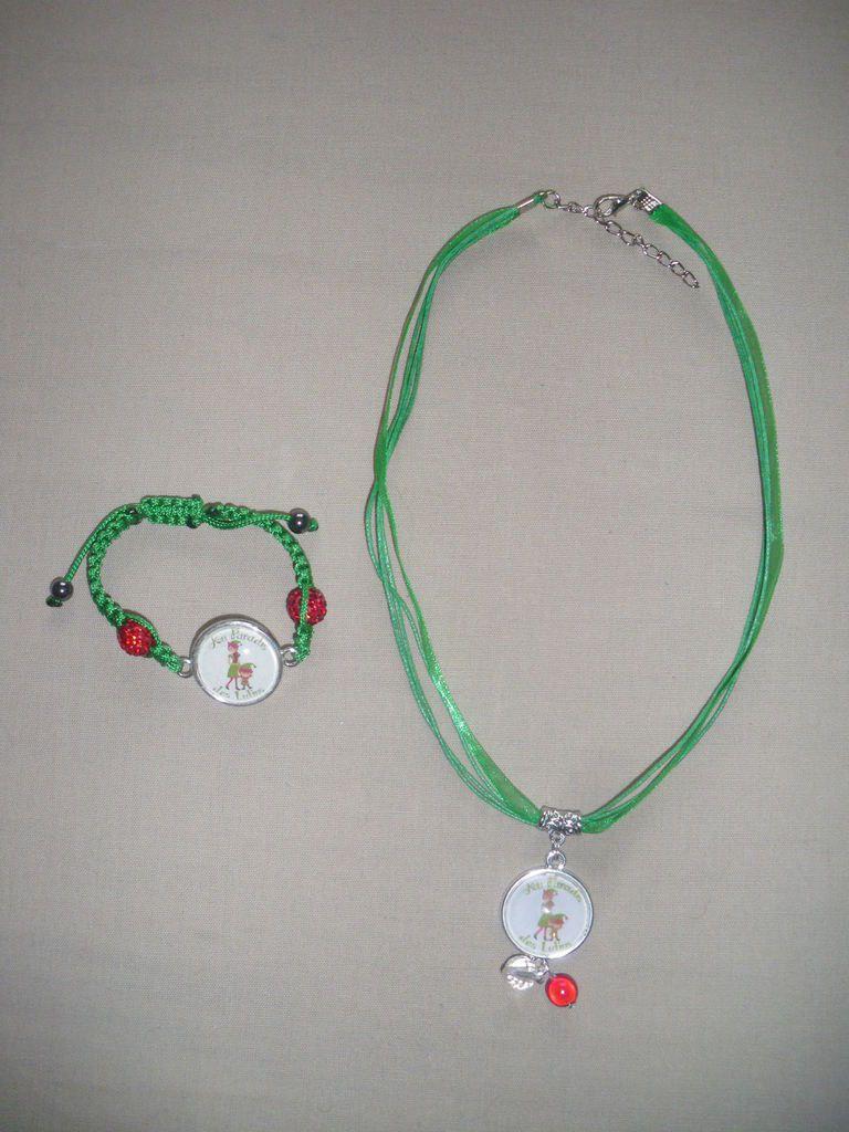 Parure collier - bracelet