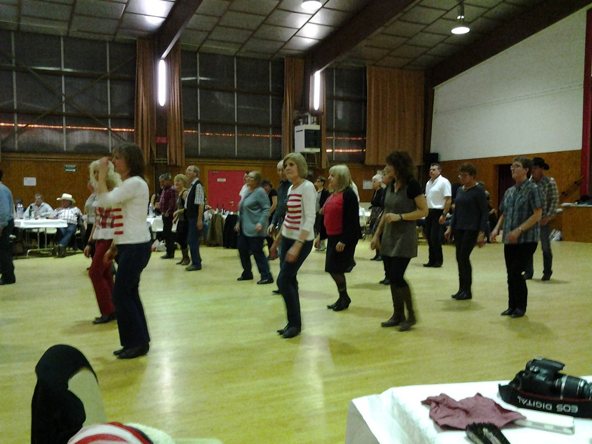 bal country à Linars du 31/01/2015