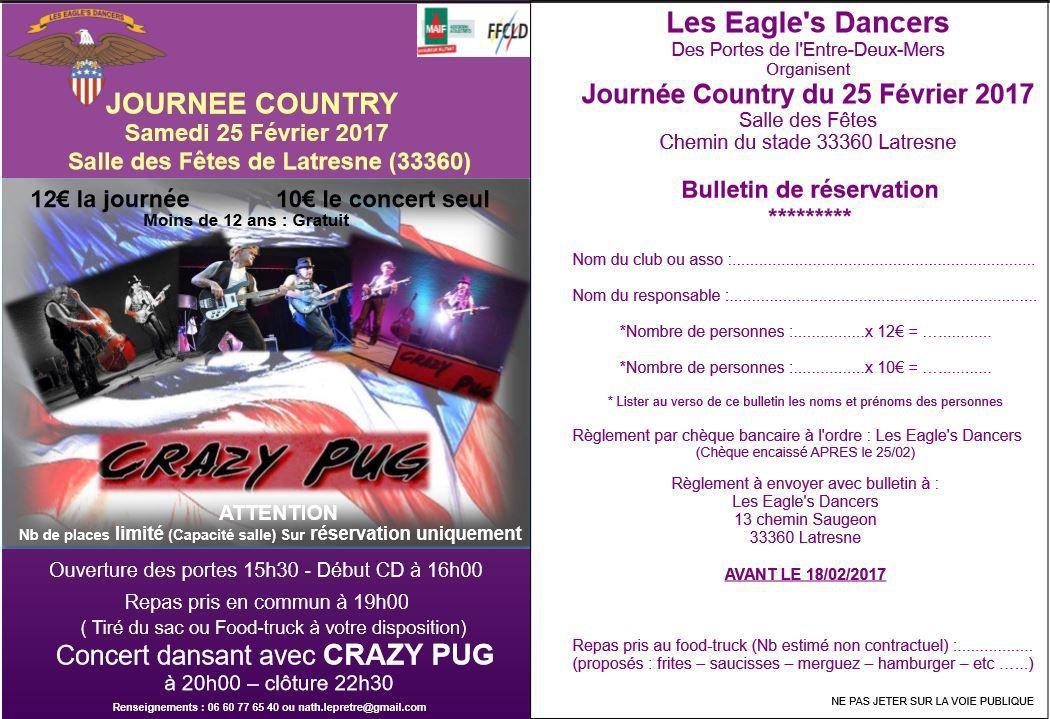 Concert Crazy pug le 25-02-2017 à Latresne 33 360