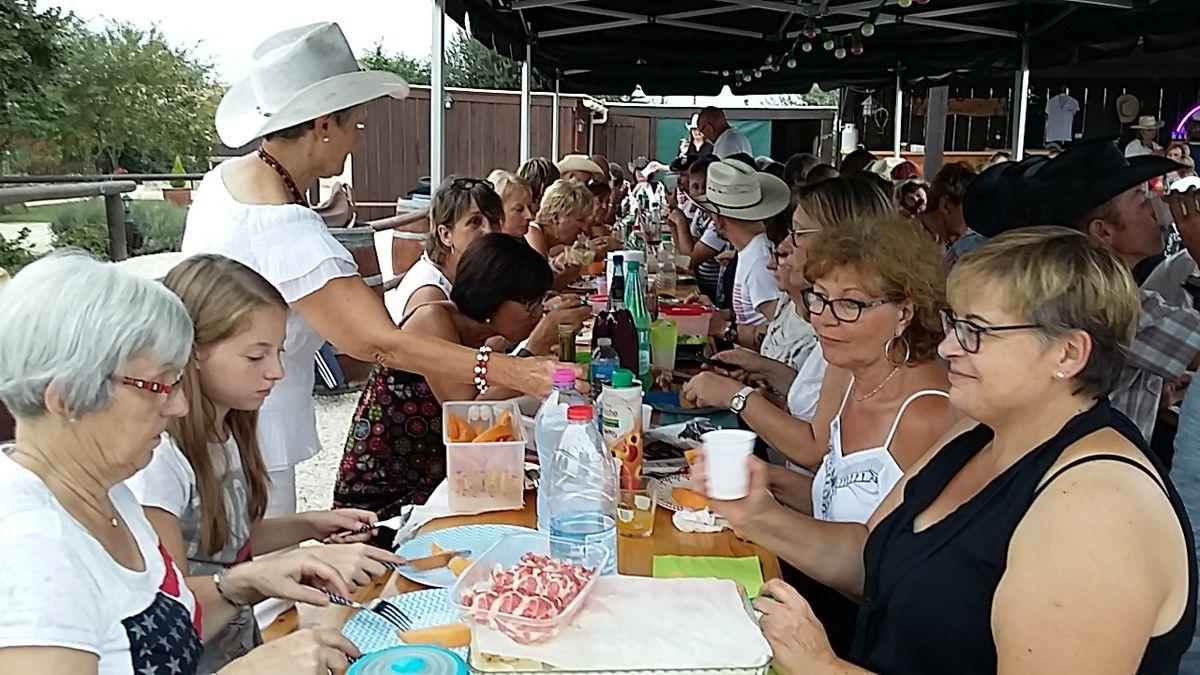 Pique nique barail ranch le 26 août 2017
