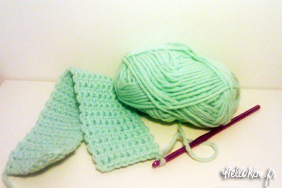 Bonnet au crochet facile à faire