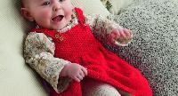 Première robe de bébé avec tuto