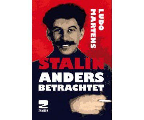 """Verson allemande de """"Un autre regard sur Staline"""", de Ludo Martens, qui eut le courage politique de le publier en 1995. Ses hériters sont ils en train de le renier?"""