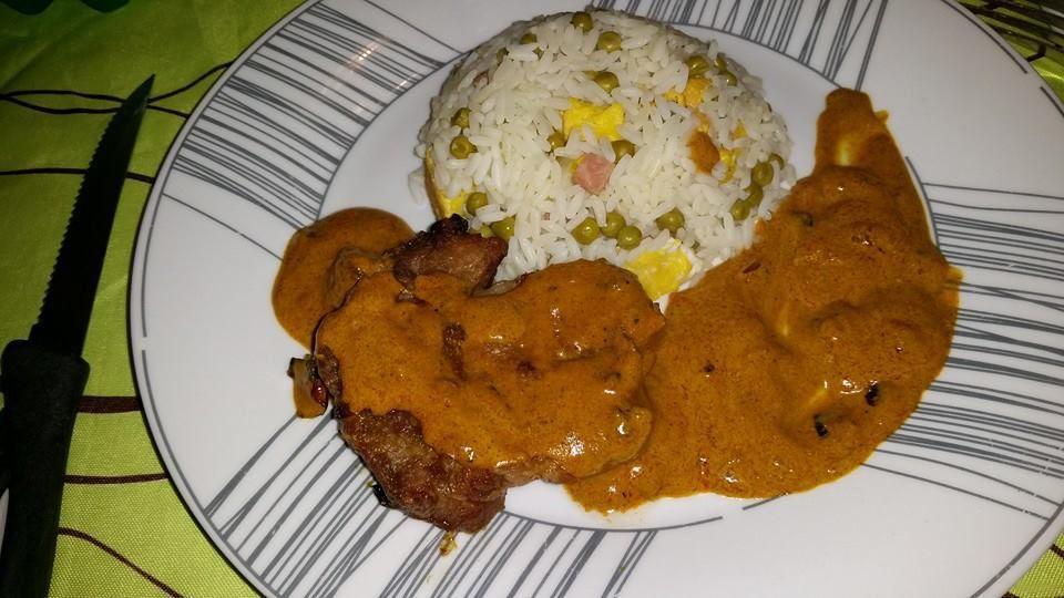 Riz cantonnais et roti sauce patak 39 s la cuisine de laeti - Absorber l humidite avec du riz ...